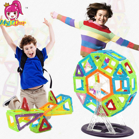 184pcs-110pcs Magnetic Blocks Set Kids Magnetic Toys