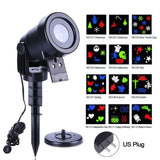 Christmas Laser Decoration Waterproof Moving Outdoor