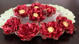 Maroon Dream- box of 12 flowers
