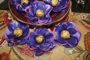 Mardi Gras Fantasy- box of 12 flowers