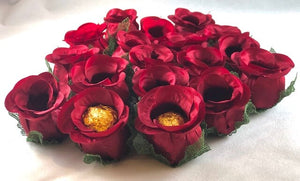 Merlot Jewel- box of 12 flowers