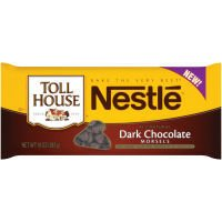 Nestle Toll House Dark Chocolate Morsels, 10 OZ (Pack of 12)