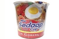 Mie Cup Mi Goreng (Fried Noodle) - 2.93oz [Pack of 1]