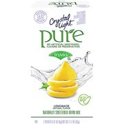 Crystal Light Pure Lemonade Drink Mix, 7ct(Pack of 2)