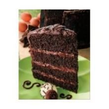 Alden Merrell Desserts 4 Layer Towering Chocolate Cake, 160 Ounce -- 1 each.