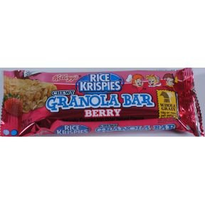 Kelloggs® Berry Krispies Chewy Granola Cereal Bar (Case of 24)