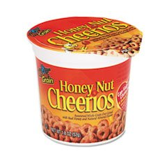 ** Honey Nut Cheerios Cereal, Single-Serve 1.8 oz Cup, 6/Pack **