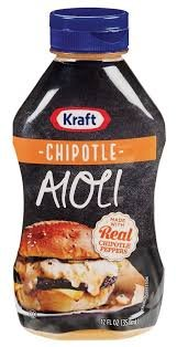 Aioli Kraft Chipotle, 12 Ounce, 12 Ounce
