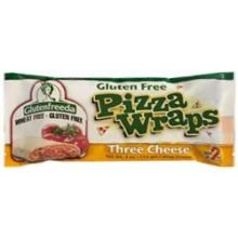 GLUTENFREEDAS Wrap Pizza, 3 Layer Cheese, 4 Ounce (Pack of 12)
