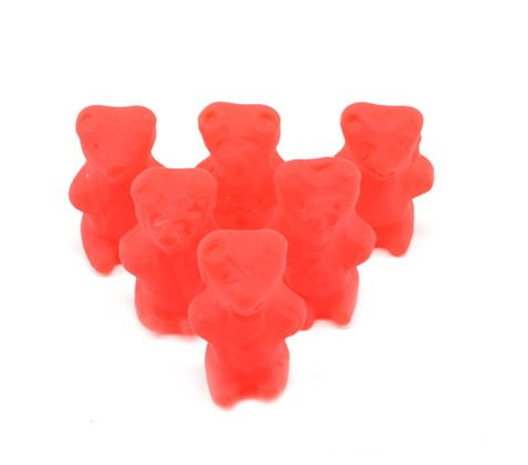 Unwrapped Gummi Cinnamon Bears - 5 lb.