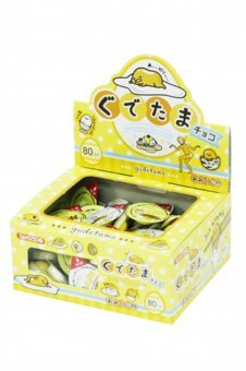 Sanrio Gudetama chocolate 80p With fortune-telling Japan Snack DAGASHI