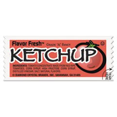 * FLAVOR FRESH Ketchup Packets, .317oz Packet, 200/Carton