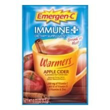 Alacer Emer'Gen-C Immune + Warmers Apple Cider, 10 Ct