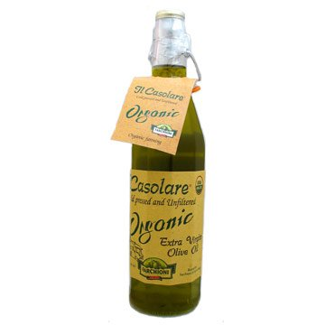 """Il Casolare"" USDA Organic, unfiltered Extra Virgin Olive oil, 25 fl oz"
