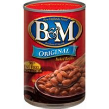 B & M Originial Baked Beans - 55 oz. can, 6 cans per case