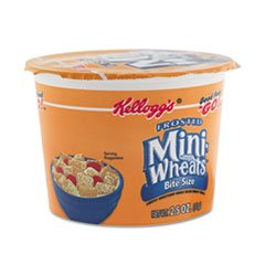 ** Breakfast Cereal, Frosted Mini Wheats, Single-Serve, 2.5 oz, 6 Cups/Box **