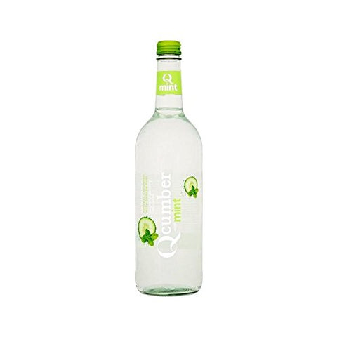 Qcumber with Mint Sparkling Water 750ml