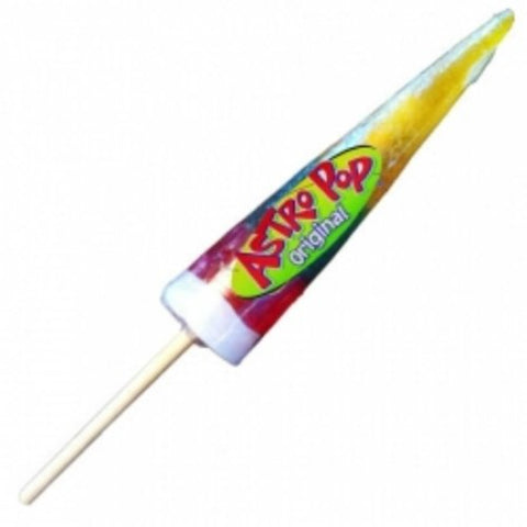 Yellow Pineapple Green Passion Fruit & Red Cherry Astro Pop 1 Lollipop