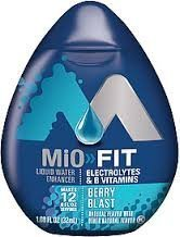 Mio Fit Berry Blast 1.08oz Lot of 4 Bottles by N/A [Foods]