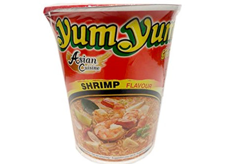 Cup Noodles (Shrimp Flavor) - 2.47oz (Pack of 1)