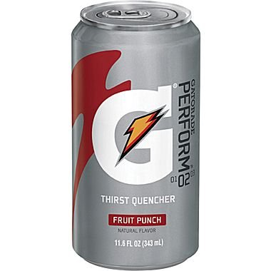 Gatorade Liquid Concentrate Ready-To-Drink Energy Drink, 11.6 oz Can (Case of 24)
