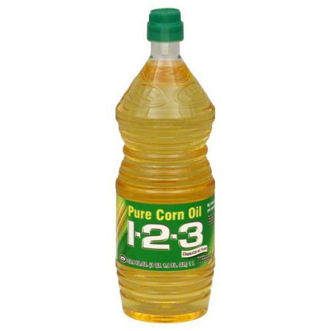 1 2 3, Oil Corn, 33.8-Ounce (12 Pack)