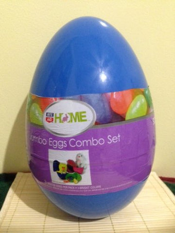 Home Jumbo Eggs Combo Set Easter Day (3 Nested Eggs Per Pack)