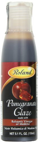 Roland Foods Balsamic Glaze, Pomegranate, 5.1 Ounce (Pack of 3)