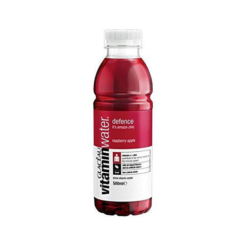 Glaceau Vitaminwater Defence Raspberry & Apple 500ml (Pack of 4)