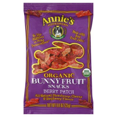 Annies Homegrown Organic Berry Fruit Snack, 0.8 Ounce -- 18 per case.