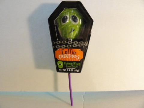 Green Apple Mummy Wrap Creepers Lollipop