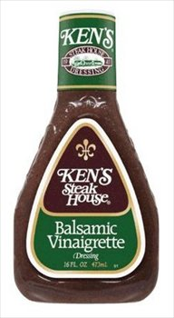 *Kens Steak House Balsamic Vinaigrette Dressing 14 oz (Pack of 6)