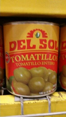 Del Sol Whole Tomatillos 100 Oz (2 Pack)