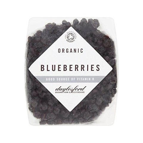 Daylesford Organic Dried Blueberries 125g - Pack of 2