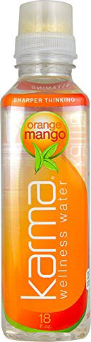 Karma Wellness Water Orange Mango 18 fl oz (Pack of 2)