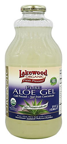 Lakewood Organic - Organic Pure Aloe Gel Juice - 32 oz.