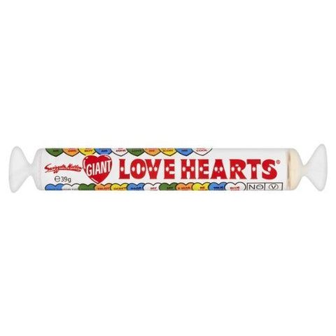 Swizzels Matlow Giant Love Hearts (39g)