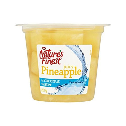 Nature's Finest Pineapple in Coconut Water 200g