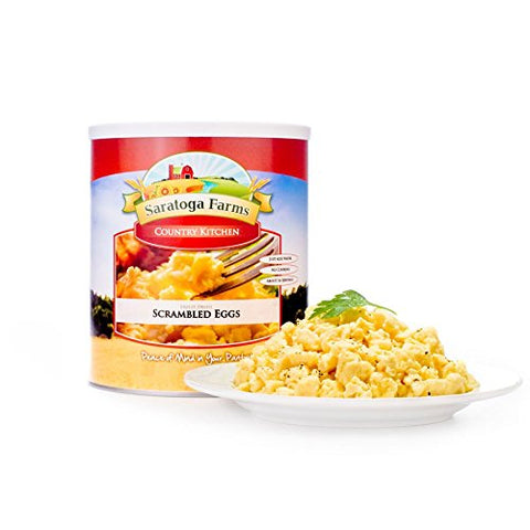 Saratoga Farms Freeze Dried Scrambled Eggs