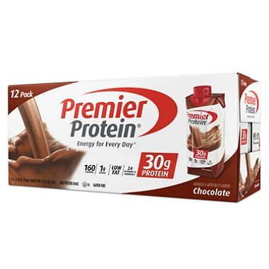 Premier Protein High Protein Shake, Chocolate (11 fl. oz., 12 pack) (pack of 2)