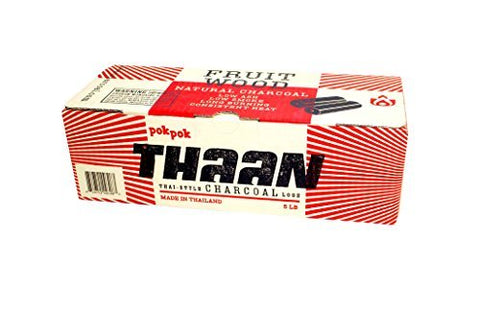 Pokpok Log,Thaan,Charcoal Thai 5 Lb (Pack Of 6)