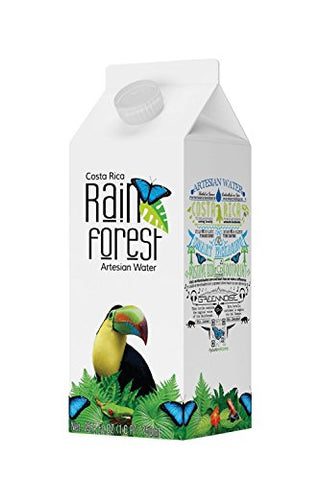 RainForest Water Cardboard, 25.4 oz., 12 Box