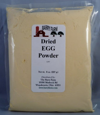 Whole Egg Powder, 8oz.
