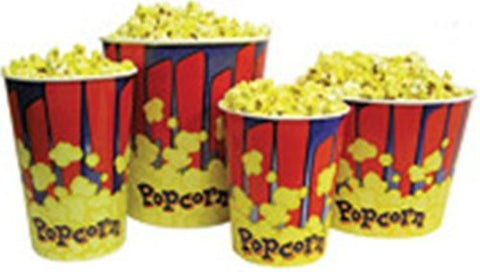 Benchmark USA 41446 Popcorn Tubs - 46 Oz
