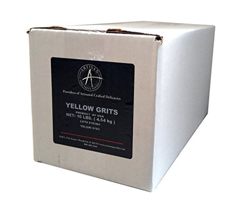 Yellow Corn Grits - 10 Lb