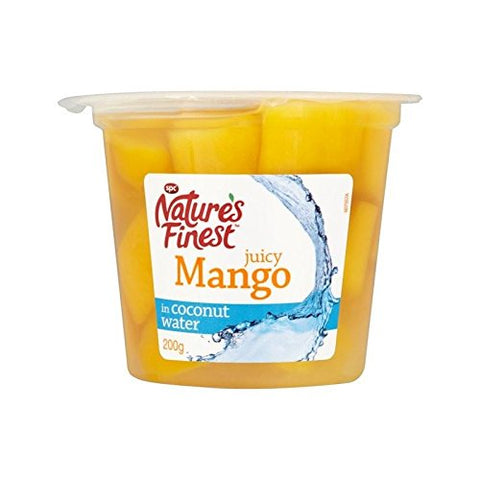 Nature's Finest Mango in Coconut Water 200g - Pack of 4