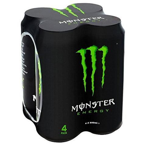 Monster Energy Drink (4x500ml) - Pack of 2