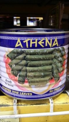 Athena Stuffed Vine Leaves 4.4 Lb (1 Can)