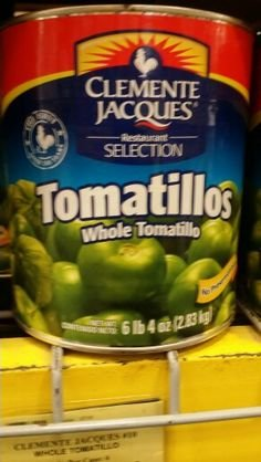 Clemente Jacques Whole Tomatillos 100 Oz (6 Pack)