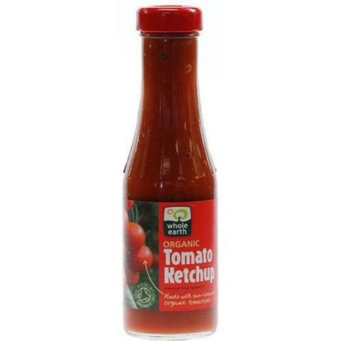 (4 PACK) - Whole Earth - Organic Tomato Ketchup | 340g | 4 PACK BUNDLE